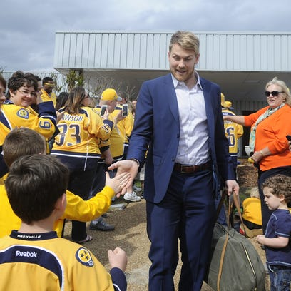Predators forward Colin Wilson.