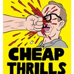 The fact that cartoonist Johnny Ryan made a poster for the movie 'Cheap Thrills' only makes me want to see it more.