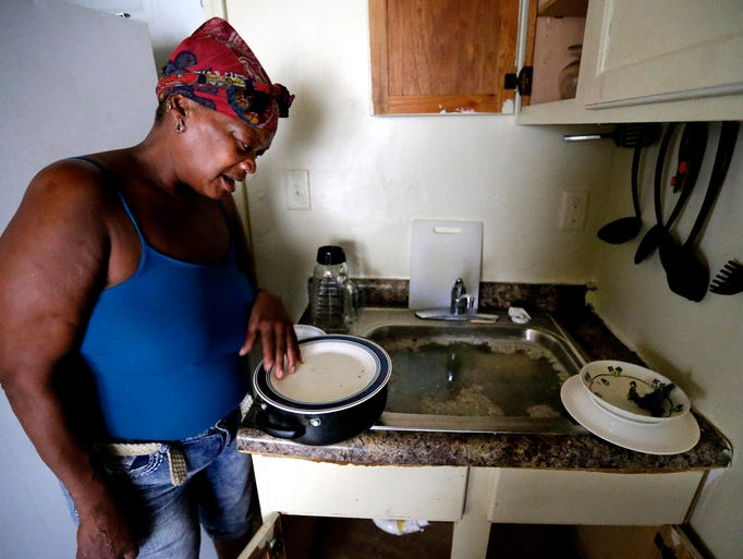 Patricia Hicks, an ex-tenant at a property in the 4400
