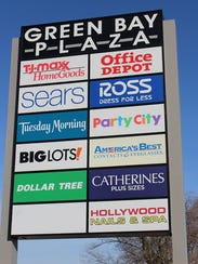 Green Bay Plaza mall at South Military Avenue and West