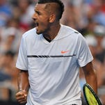Kyrgios' new approach: Keep calm and move on at Aussie Open