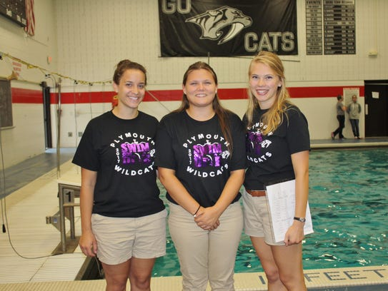 Plymouth's varsity girls swim and dive team has a new