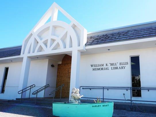 "The entrance to the William R. ""Bill"" Ellis Memorial"