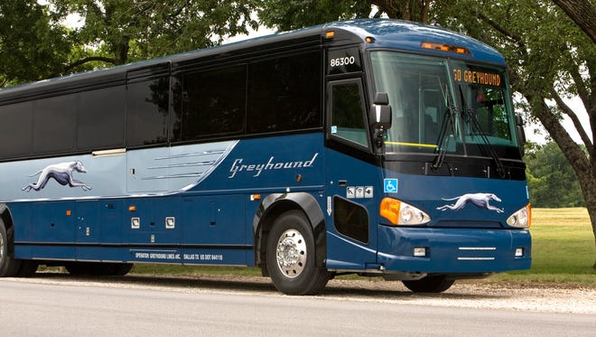 A woman from Cleveland was forced to stay overnight at the Greyhound bus station Downtown. She was not the only one, as weather created problems for the bus company.