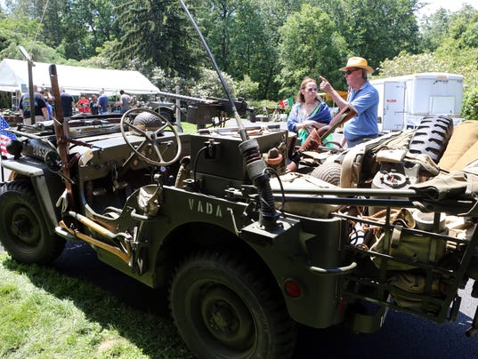 military vehicle show