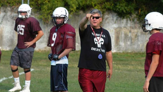 Verona head football coach Lou Racioppe is looking forward to this summer's youth summer camp, which is scheduled to begin Monday, July 11.