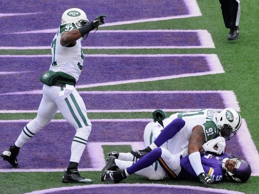 New York Jets v Minnesota Vikings