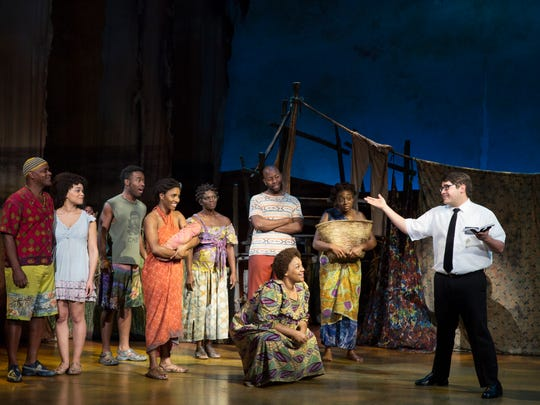 """The Book of Mormon"" in Washington, D.C., Nov. 17, 2017. The comedy-musical is at Artis—Naples from Dec. 19-24, 2017."