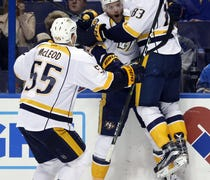Nashville defeats St. Louis, 4-3, in Game 1 of bes...
