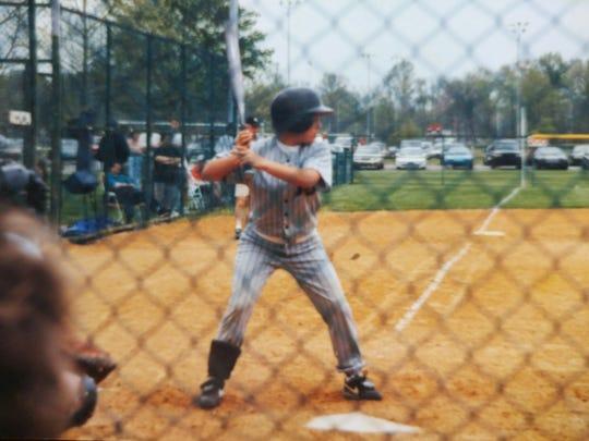 In 1998, Jennifer Millican bats for the Mt. Juliet softball team