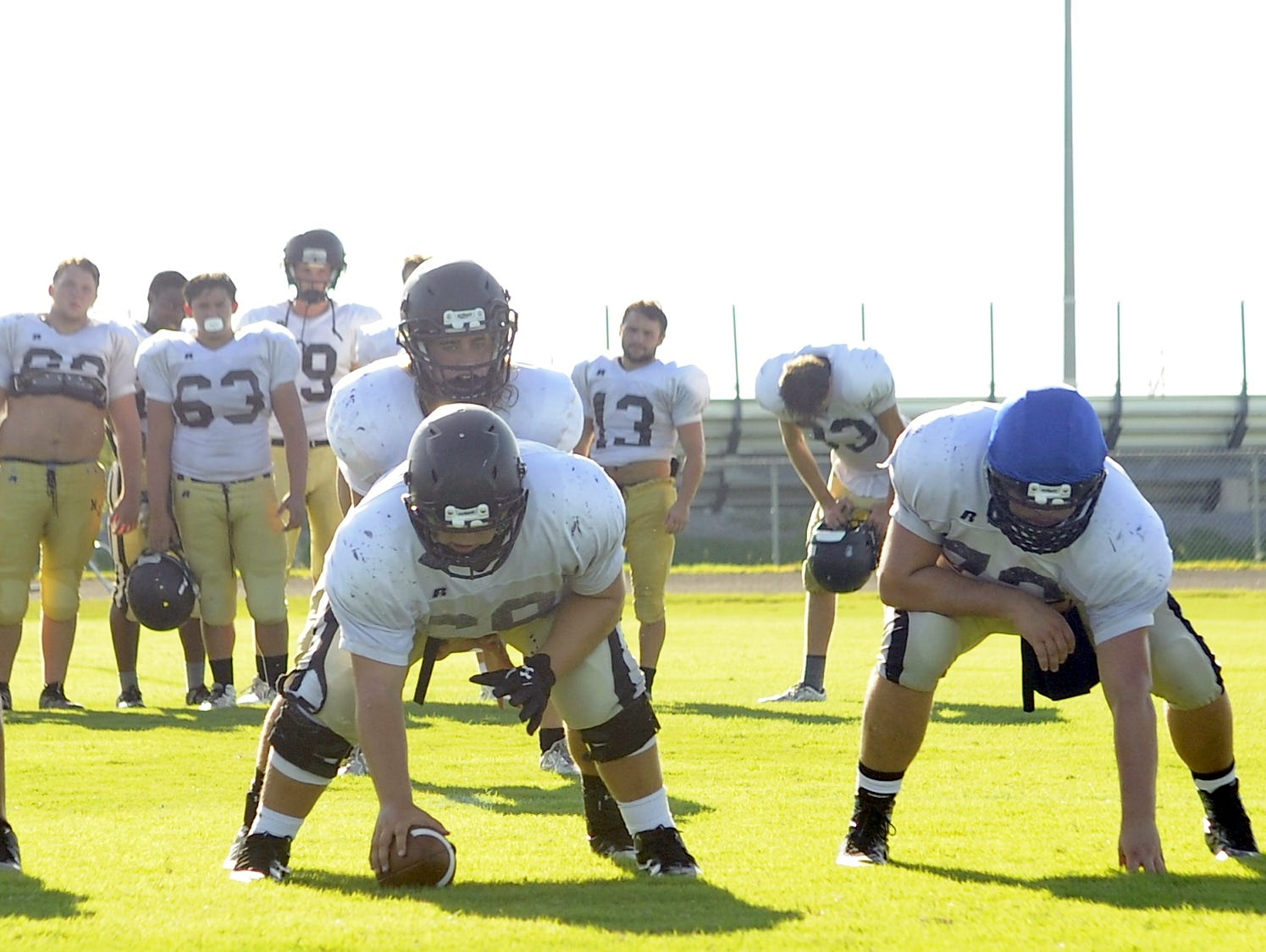 The Mt. Juliet offensive line consists of five returning starters.