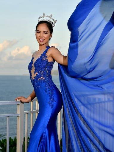 Miss International Guam 2016 Annalyn Buan is shown