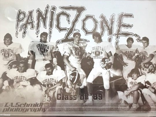 Shasta High's football players who won the 1988 section title came up with the nickname of Panic Zone.