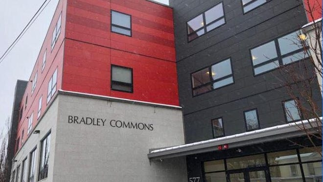 The Bradley Commons Apartments are located at 577 Central Ave. in Dover.