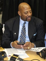 Broadcaster Earl Cureton is excited to relive some memories of the 1976-77 U-D men's basketball team at the 40th reunion celebration Feb. 10.
