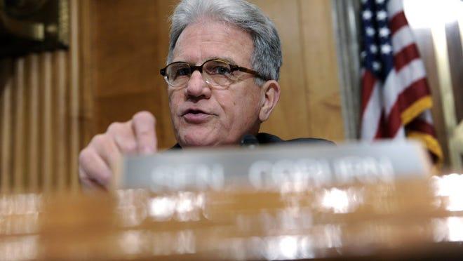 Senate Homeland Security and Governmental Affairs Committee ranking member Sen. Tom Coburn, R-Okla.