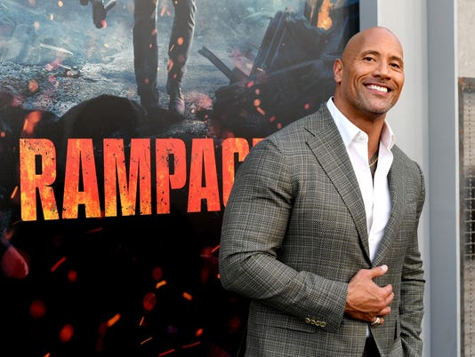 "Premiere of Warner Bros. Pictures' ""Rampage"" - Red Carpet"