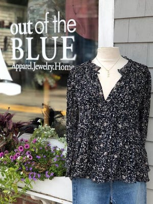 Out of the Blue will be hosting an outdoor fall fashion who on Thursday, Sept. 17.