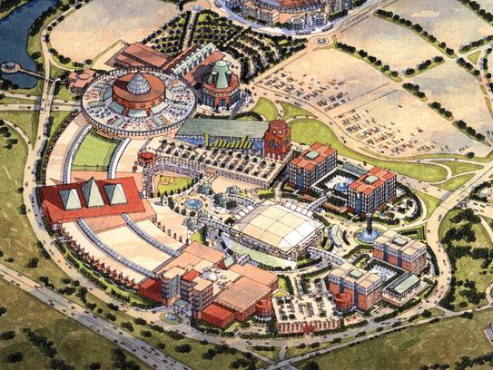 A rendering of Meadowlands Xanadu from 2002.