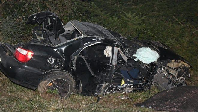 A crash early Nov. 22 killed Christopher Liddell, 24, of Corvallis.