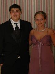 Scott Blumstein, left, and Kristin Murphy at Blumstein's