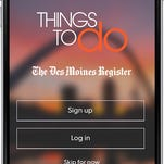 How to download Des Moines Things to Do app