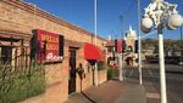 This colorful Wells Fargo branch is located in Nogales,
