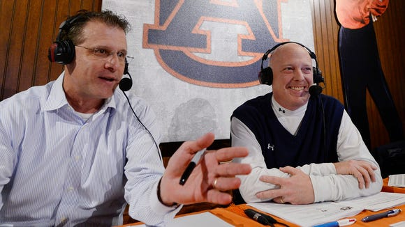 Auburn coach Gus Malzahn appears on Tiger Talk with Tigers radio broadcaster Rob Bramblett.