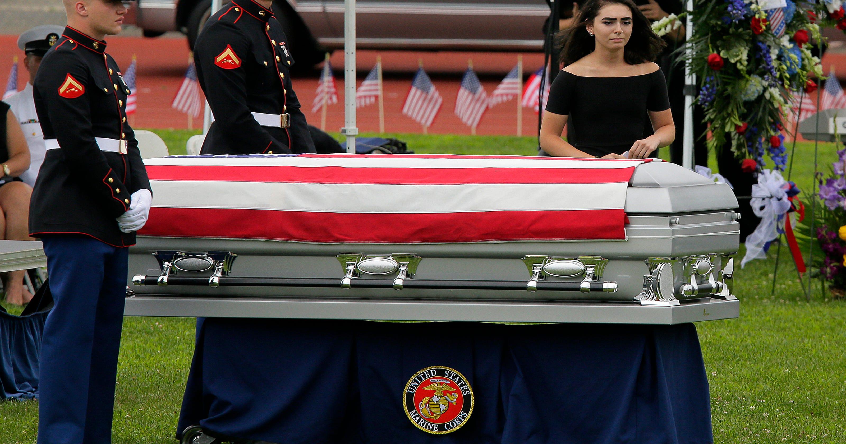 Marine Killed In Mississippi Plane Crash Laid To Rest