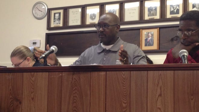 Lecompte Mayor Robert Baxter told residents that the town's fire department has never been turned down for anything. The Rapides Parish District Attorney has filed suit against the town for possible misuse of tax funds, just one of several issues facing political leaders across the state.