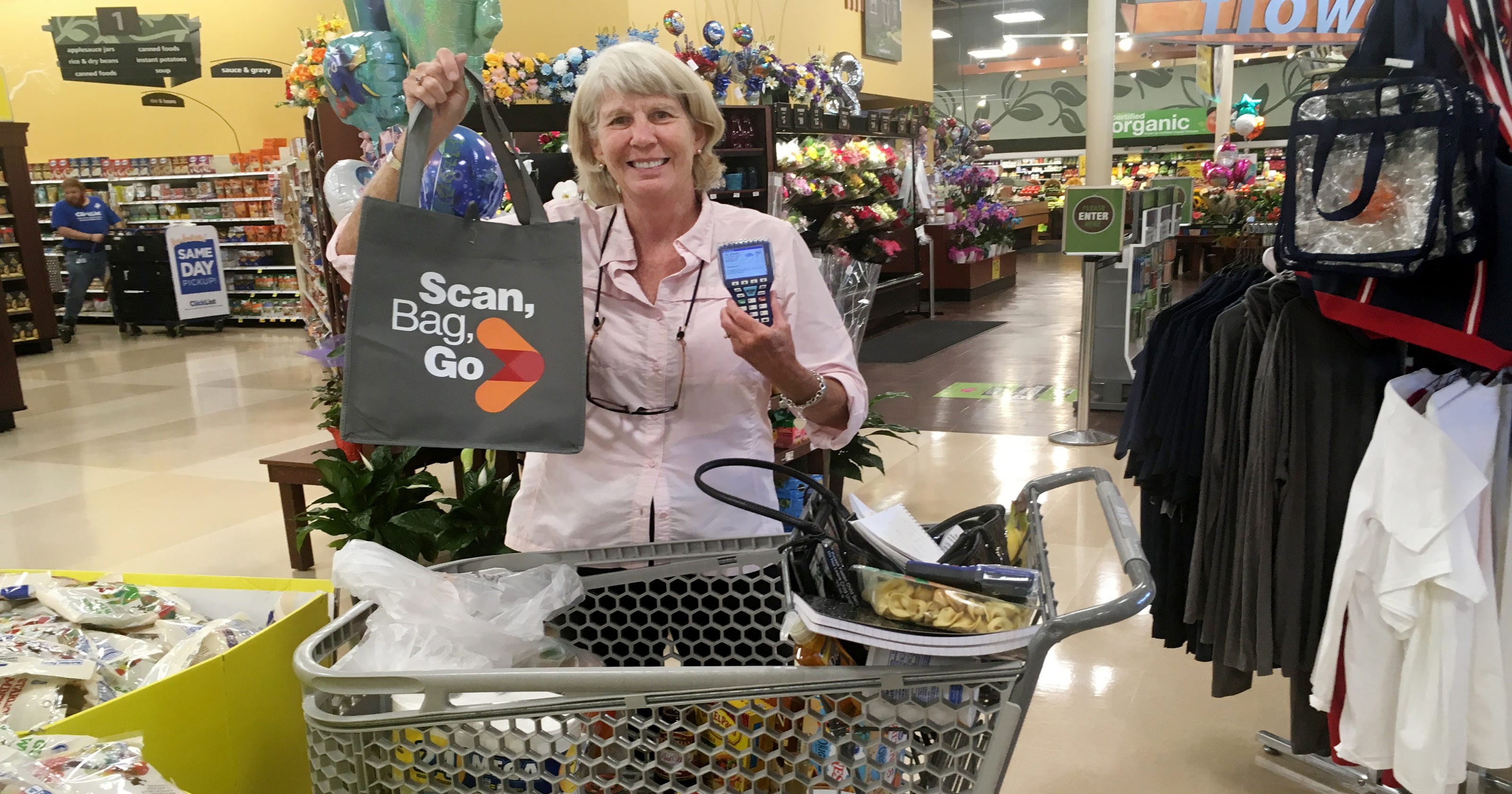 Kroger's Scan, Bag, Go checkout is an adventure in grocery shopping