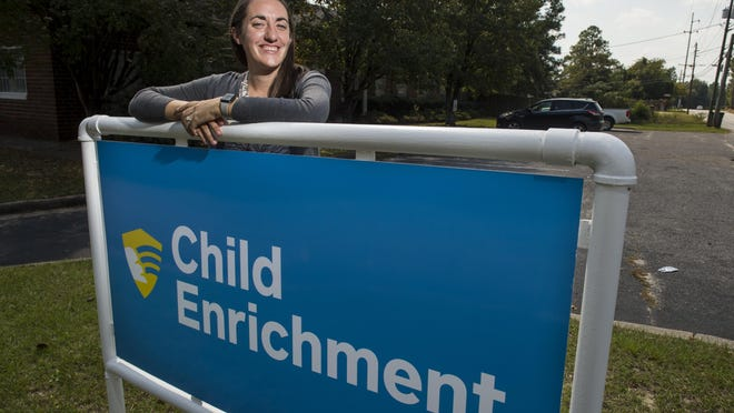 Kari Viola-Brooke, Executive Director of Child Enrichment, Inc., photographed at the Child Enrichment facility Wednesday afternoon October 7, 2020 in Augusta, Ga.