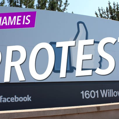 A graphic being used for the My Name Is protest, which