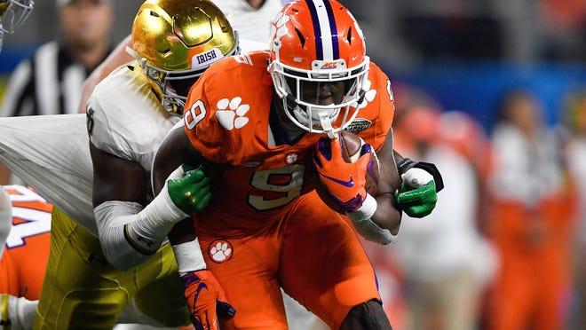 Clemson junior Travis Etienne remains in school despite being eligible for the 2020 NFL Draft.