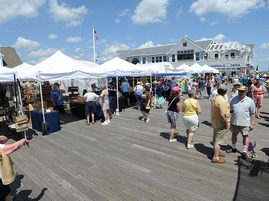 The annual Seaside Craft Show will be held on the Bethany Beach Boardwalk on June 4.