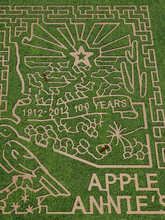 Apple Annie's maze