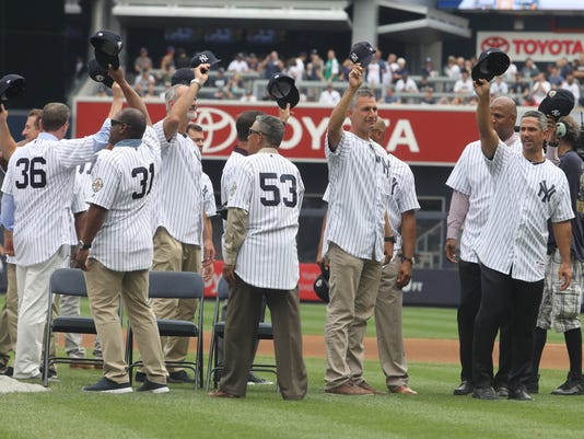 The 20th anniversary reunion of the 1998 World Series Champion New York Yankees.