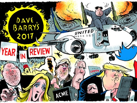 Dave Barry's 2017 Year in Review - Main image.