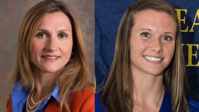 Allison Karpyn (left) and Nicole Filion