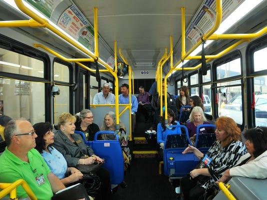 SCAT Bus commute