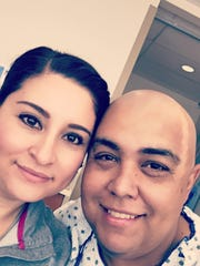 """""""Making my husband feel handsome even after losing his hair!"""" Submitted by Marisela Duran."""