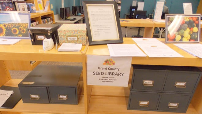 The Grant County Seed Library moved to the Silver City Public Library.