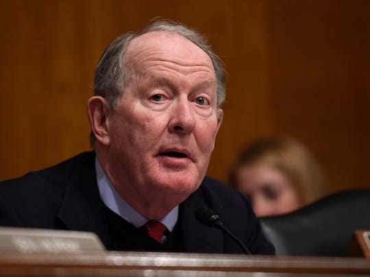 Senate Health, Education, Labor and Pensions Committee Chairman Sen. Lamar Alexander, R-Tenn. speaks on Capitol Hill in Washington, Tuesday, Jan. 12, 2016.
