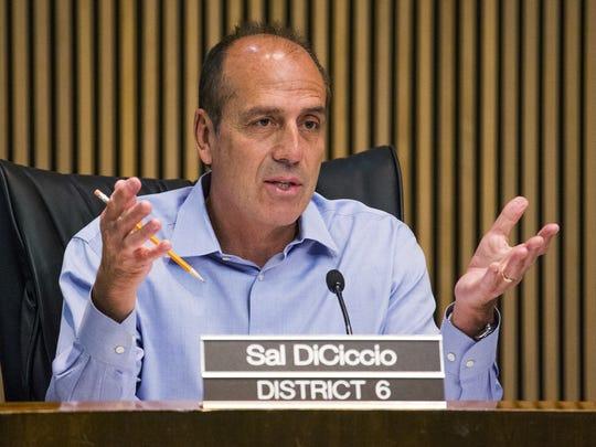 Phoenix City Councilman Sal DiCiccio.