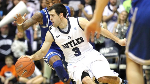 In his best season as a Bulldog, Alex Barlow played at least 40 minutes in nine Big East games.