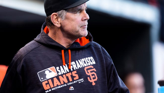 Bruce Bochy is in his 22 year as a manager in the majors.