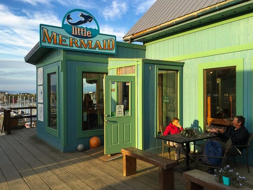 Alaska's best restaurant on Yelp is Little Mermaid,