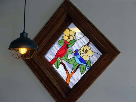 Fritz's at 115 Easton Ave, New Brunswick is photographed on Tuesday August 9, 2016Fritz's Cafe and Bakery located at 115 Easton Ave, New Brunswick is photographed on Tuesday August 9, 2016Stain glass window is a symbol of the St. Peter's Elementary School mascot ,the Cardinals.