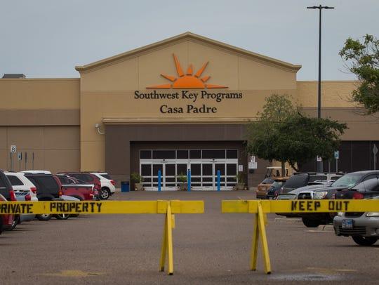 Un edificio que anteriormente era un mercado Walmart