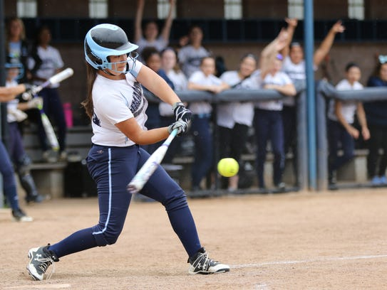 Kayla Robert connects in Immaculate Conception's five-run